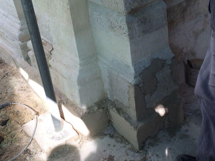 Dolmabahçe sarayı mefruşat binası restorasyon çalışmaları/ Plastik onarım