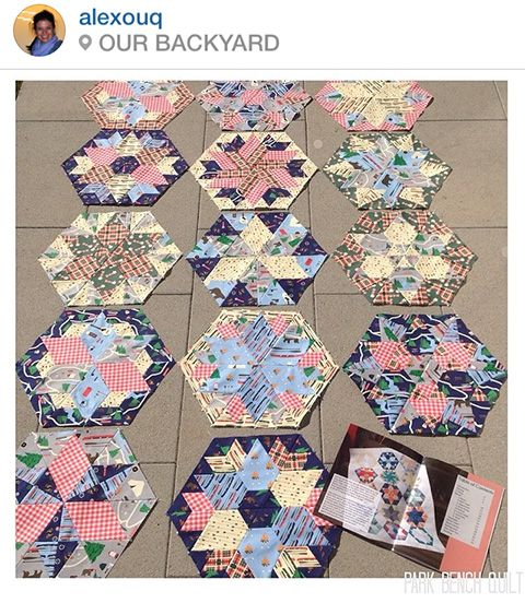 72 best Park Bench - Block of the Month Quilt images on Pinterest ... : online quilt shops - Adamdwight.com