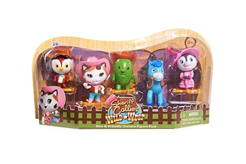 Disney Sheriff Callie's Wild West, Nice and Friendly Corners Figure Pack *** See this great product.