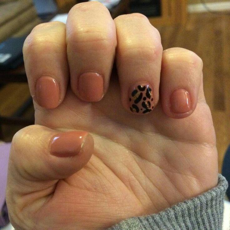 cheetah nails tonyas nail designs pinterest nails