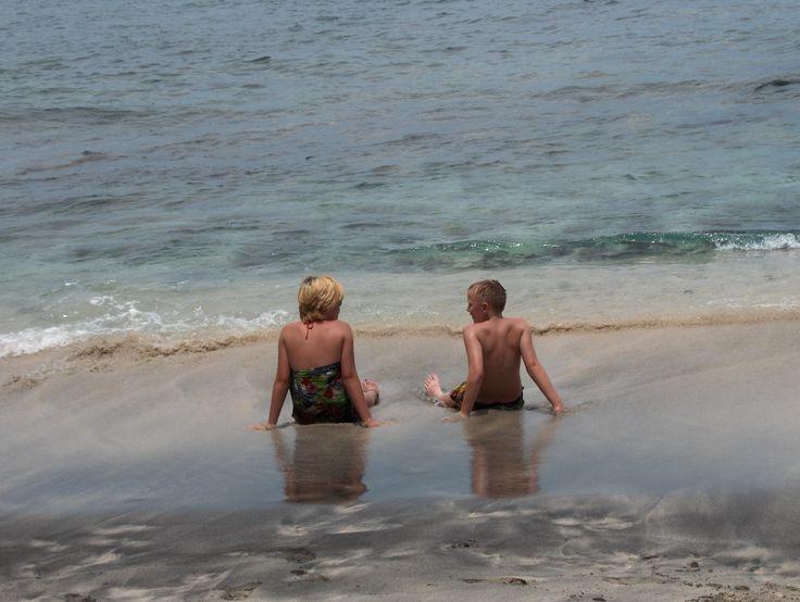 Andrea and Jonas enjoying life at Bali.