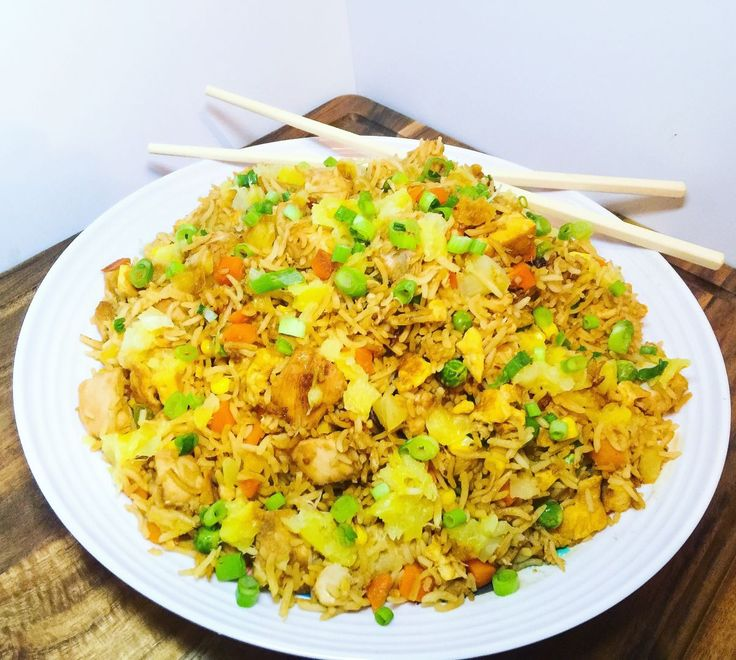 chicken and vegetable fried rice - plus our top 5 recipes for veggie smuggling