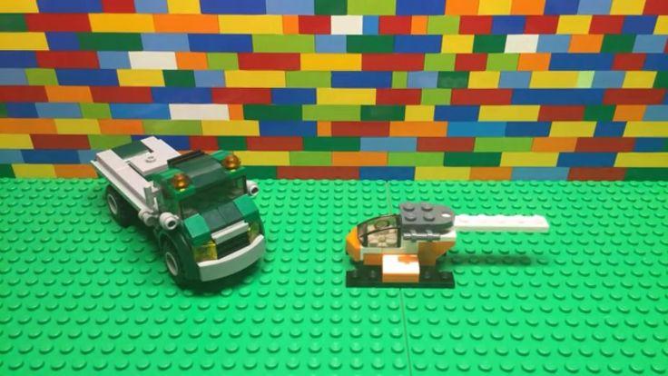 Lego Creator 3 In 1 Chopper Transporter - 31043