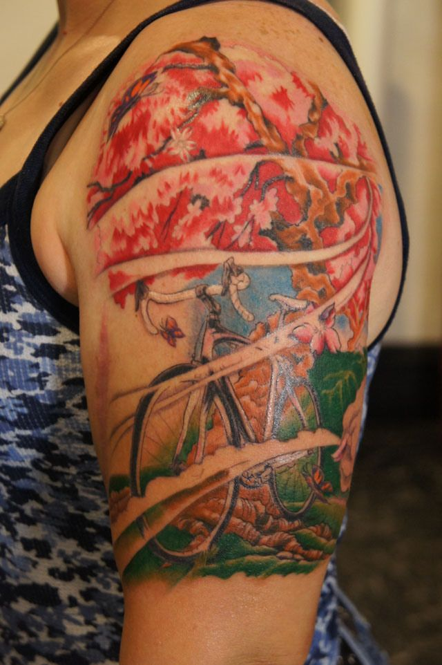 100 ideas to try about bicycle tattoos bicycling bike drawing and wheels. Black Bedroom Furniture Sets. Home Design Ideas