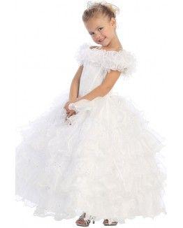 Princess Beaded Organza Ball Gown