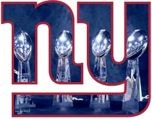 New York Giants 4 Time World Champions!!!!!