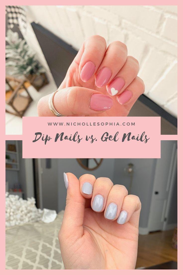 Dip Nails Vs Gel Nails Dipped Nails Gel Powder Nails Powder Nails