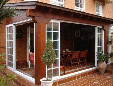 M s de 25 ideas incre bles sobre porches cerrados en - Tipos de porches ...