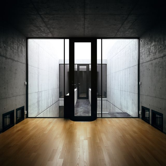 World renowned architect Tadao Ando is a clear trailblazer and vanguard. Early on it was clear his approach was on another level, and although he's honed his style throughout the years, his first housing project still holds relevance. The Row House is a seminal work for contemporary and minimalist architecture.