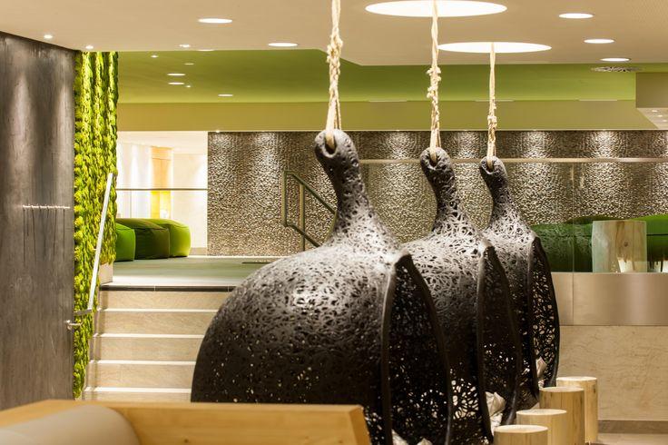 AQUA DOME, SPA 3000, Hanging Seats   © AQUA DOME