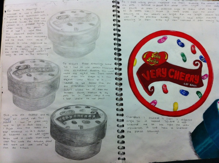 Observational drawing work