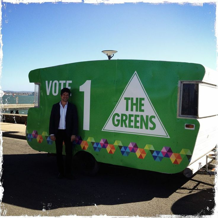 Vote 1 The Greens