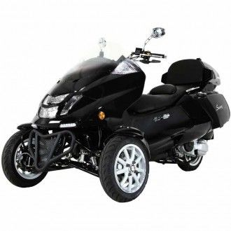 trike, MC_D300TKB, Roadrunner 300cc Trike Scooter, scooterdepot