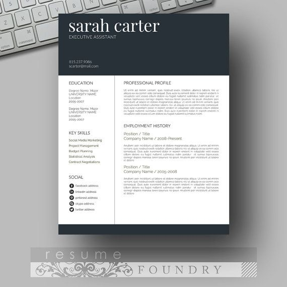 resume template cv template cover letter for microsoft word creative professional resume
