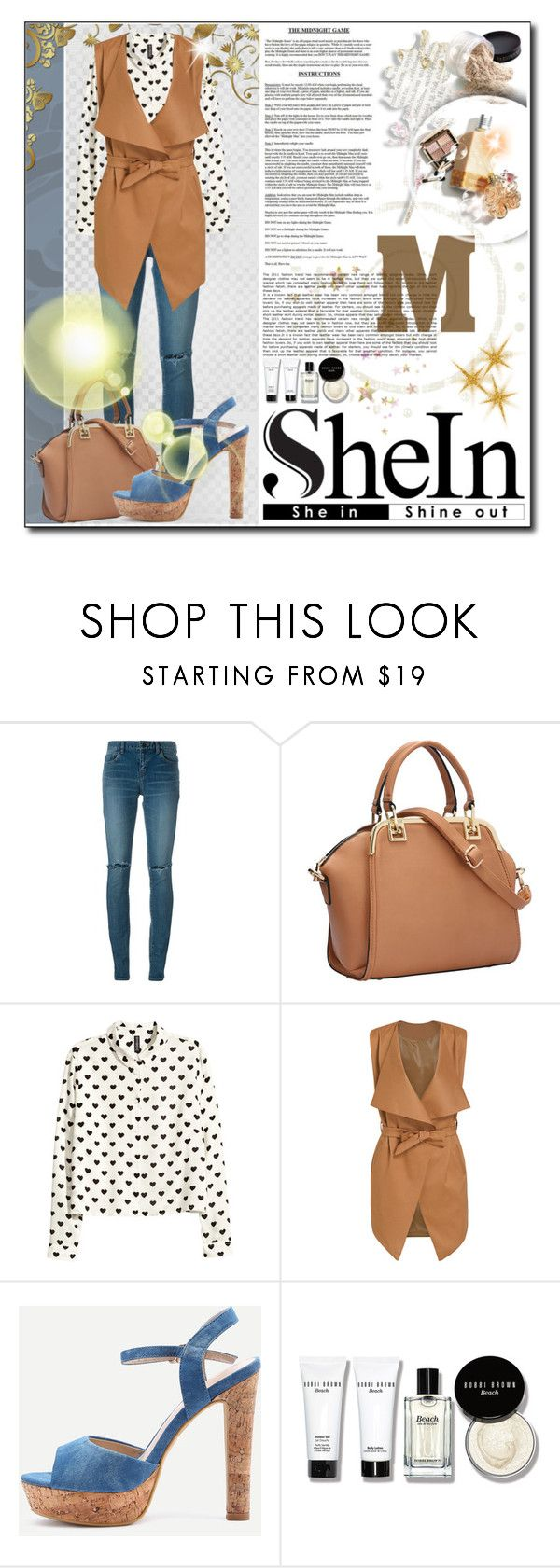 WIN SHEIN $30 COUPON! by jessinerio4l on Polyvore featuring H&M, Yves Saint Laurent, Bobbi Brown Cosmetics, Sheinside and shein