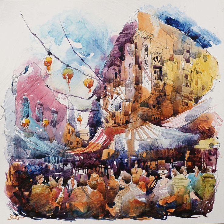 Singapore Watercolour Society Artists