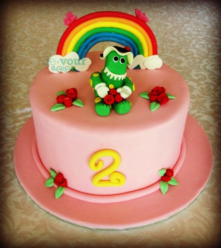 Dorothy the dinosaur cake, Wiggles cake