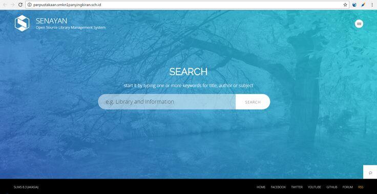 Aplikasi Perpustakaan online di web sekolah  http://smkn1panyingkiran.sch.id