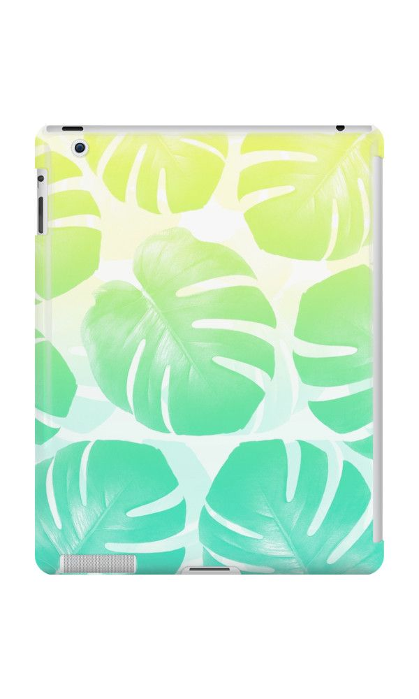 TROPICAL RESORT by adventura #ipadcase #ipad #case #monstera #trend #monsteratrend #botanictrend #leaf #monsteradeliciosa #accessory #decor #trending #trendy #mint #turquoise