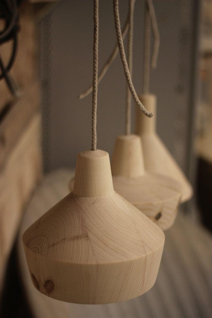 wood lamp prototypes