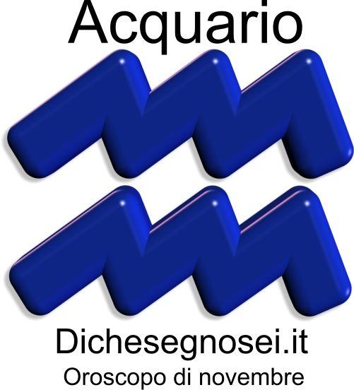 Oroscopo di ottobre 2013 per il segno Acquario.