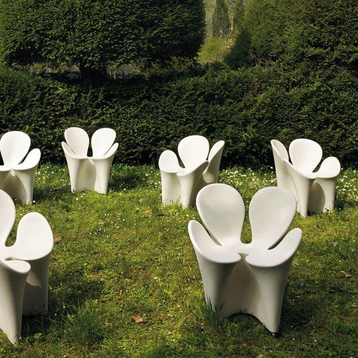 Sedia Poltroncina per Esterni CLOVER Driade by Ron Arad - @driadeofficial
