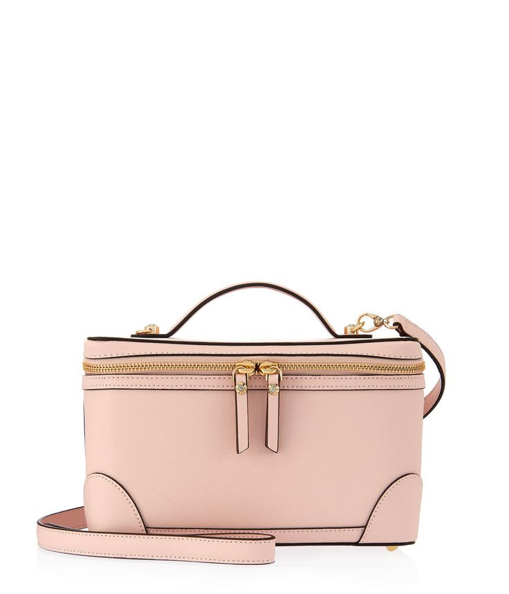 <p>The West 57th Train Case is a classic travel accessory that no Bendel Girl should be without. Updated with functional pockets and featuring Henri Bendel hardware, this Saffiano leather train case is a must-have for the modern fashionista on the go.</p>