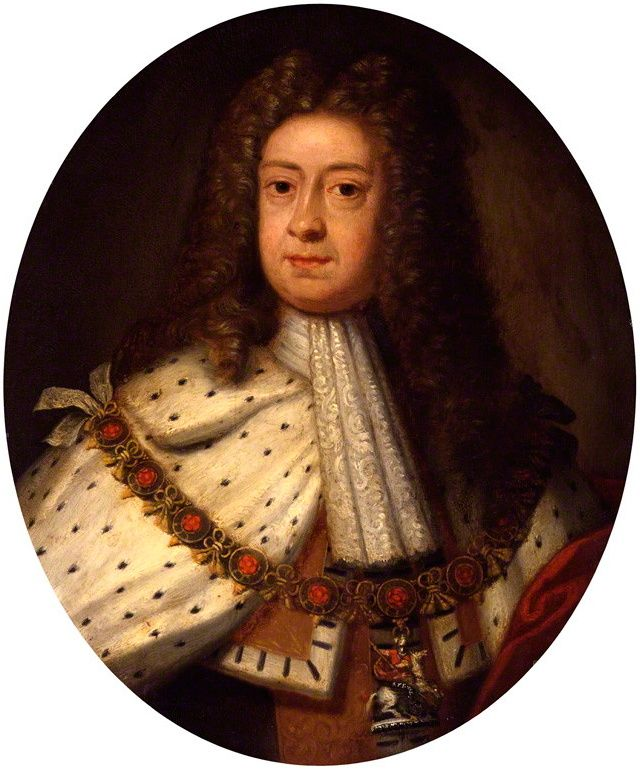 George c. 1714, the year of his succession, as painted by Sir Godfrey Kneller.