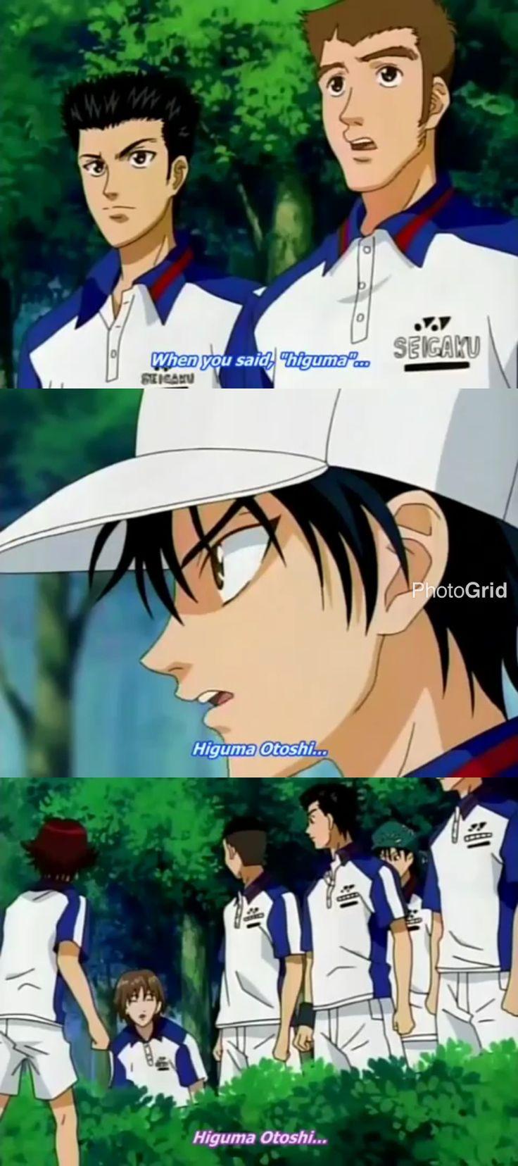 Prince Of Tennis Ep 108 Funny Scene Higuma Otoshi