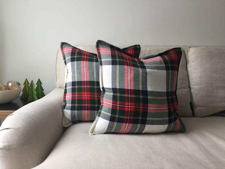 DIY napkin pillow