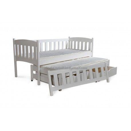 Amelka,drevená posteľ,komplet