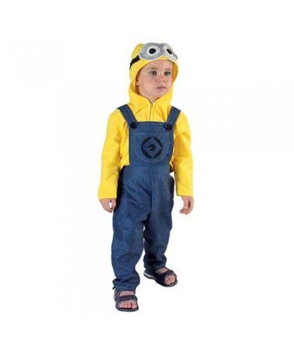 Στολή Mini Man για μικρά αγόρια που περνάνε μήνυμα