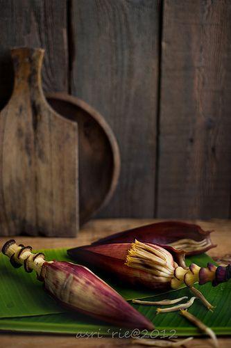 jantung pisang / banana flower