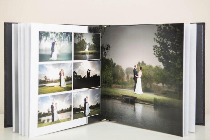 darrell fraser wedding album design