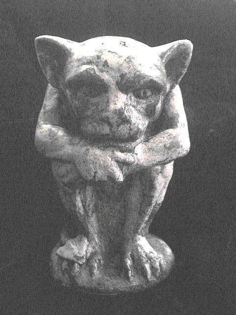 Gargoyle Baby Demon Statue Gothic Medieval Renaissance ...