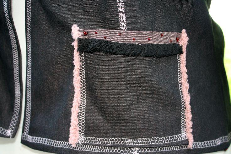 Jackendetail Tasche