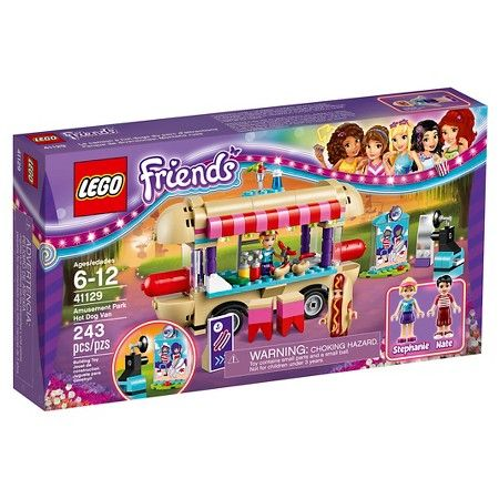LEGO® Friends Amusement Park Hot Dog Van 41129 : Target