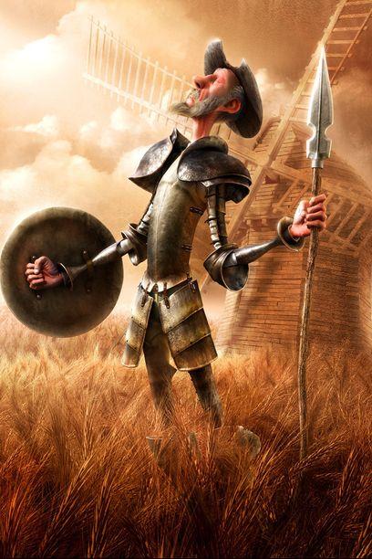 Ilustración de Don Quijote de la Mancha