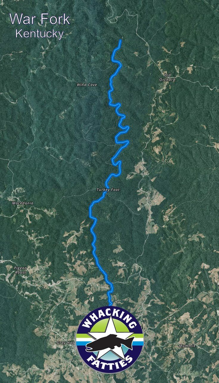 Kentucky Earthquake Map%0A Fishing Report War Fork
