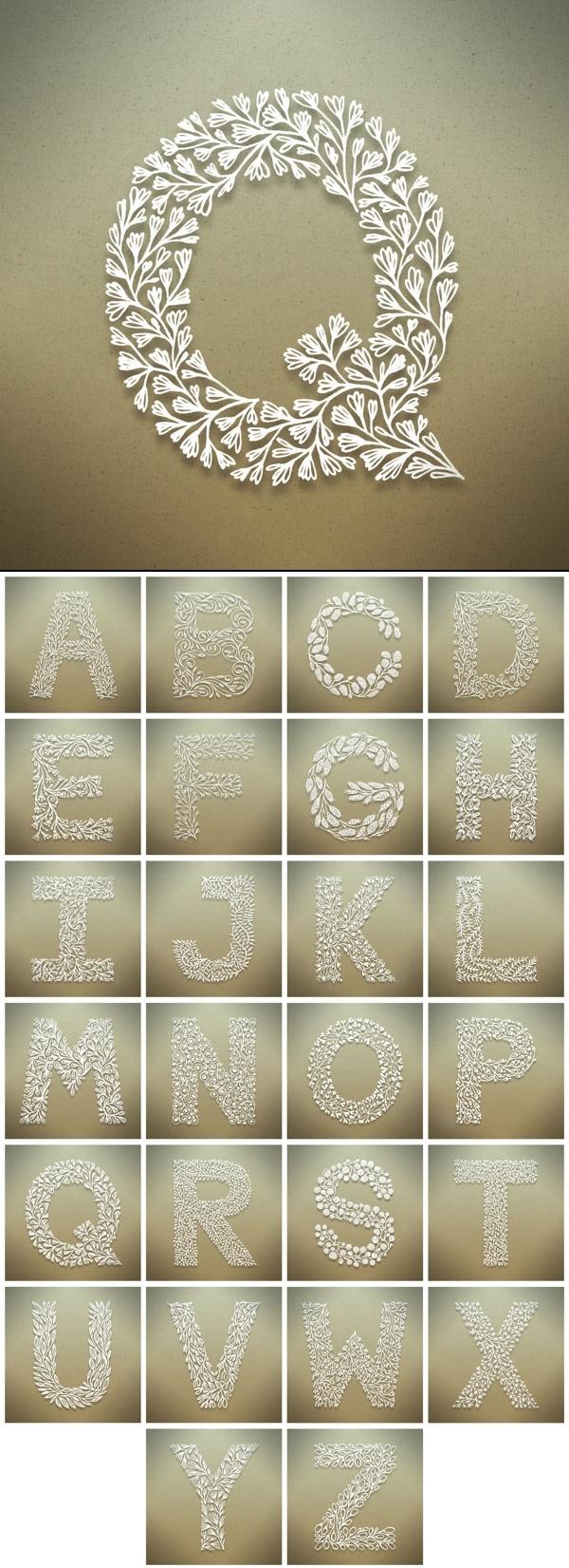 Letras decorativas - Blog Pitacos e Achados -  Acesse…