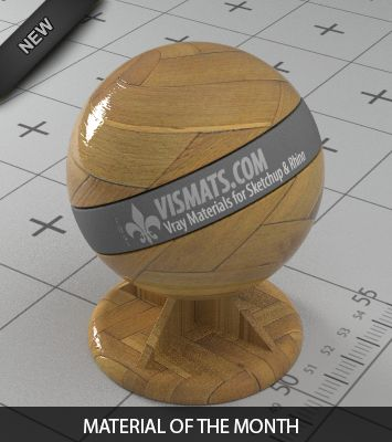 Free .vismat Materials for Vray for Sketchup & Rhino