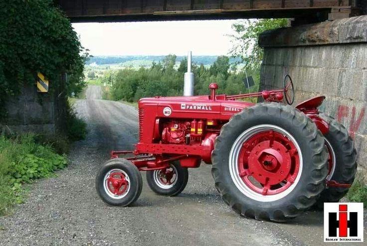 Tractor Pulling Parts : Farmall super md tractors pinterest john deere
