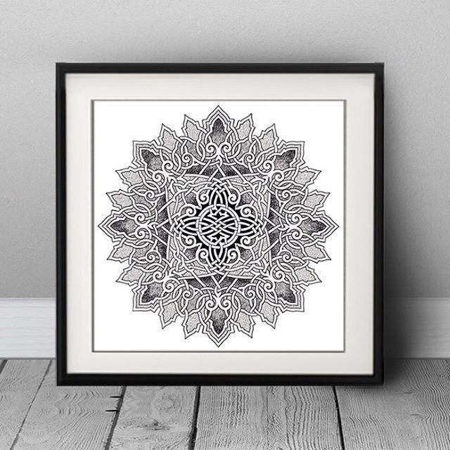 www.facebook.com/AnnaLipowskaArt Mandala no.11  Micron pen ink on papier A4 (2015)  #relax #drawing #mandala #doodle  #art #penart #mandalaart #zen #illustration #abstract #interior #decor #picture #poster  #scandinavian #arts_gallery #daily__art #zenart #мандала #patterns #artist #artsglobal #ink #linework #worldofpencils #arte #sketch #shape #blackandwhite