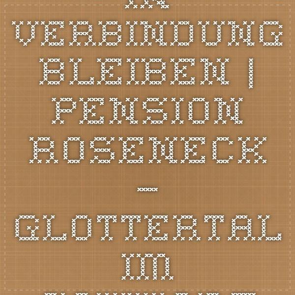 In Verbindung bleiben   Pension Roseneck – Glottertal im Schwarzwald (bei Freiburg)