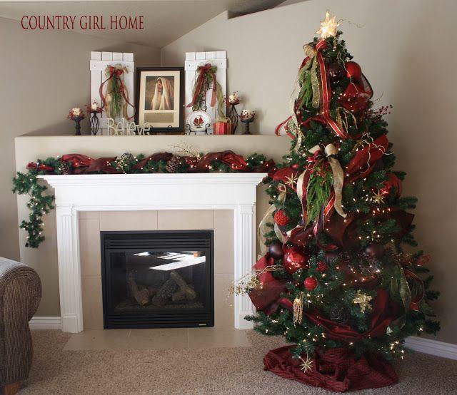 9 best Corner Mantel Decorating images on Pinterest | Fire ...