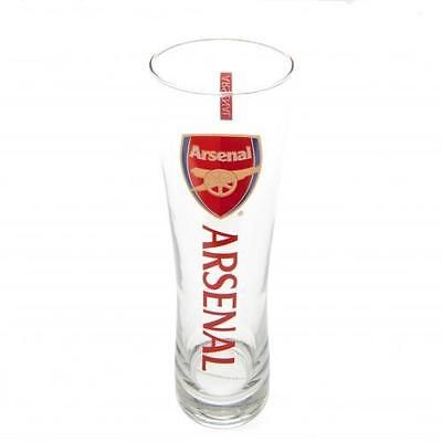#Official #football #arsenal f.c. tall beer glass xmas gift,  View more on the LINK: 	http://www.zeppy.io/product/gb/2/322107458364/