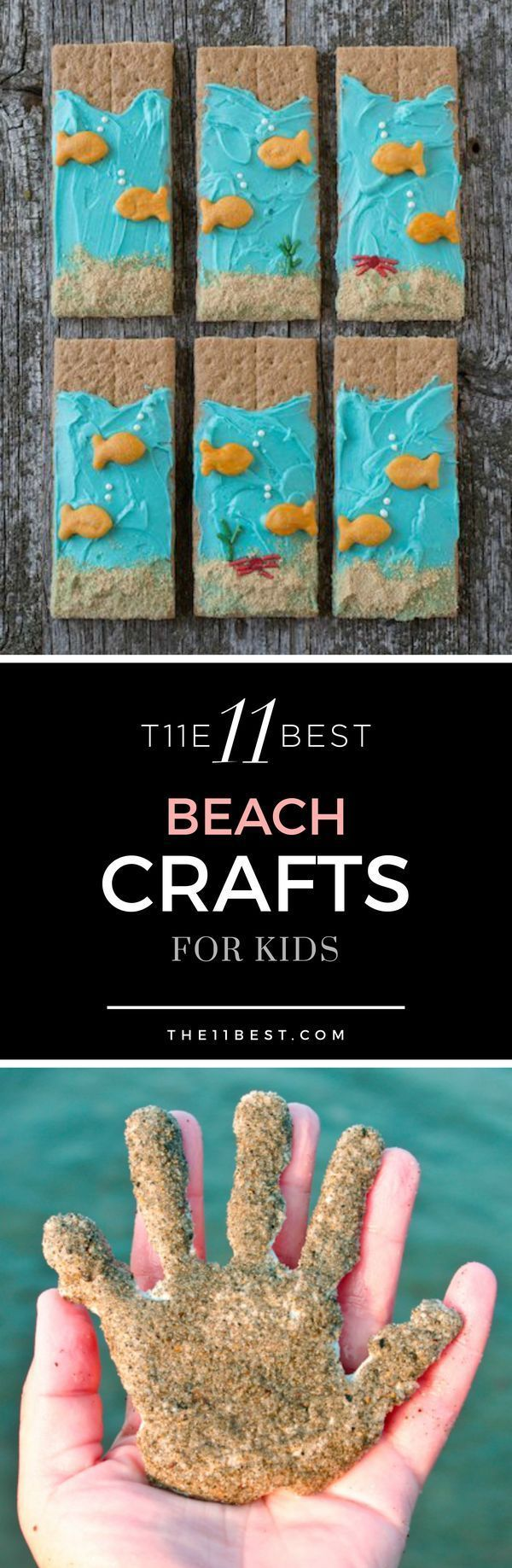 The 11 Best Beach Crafts for Kids - Tap the link to see the newly released survival collections for tough survivors out there! :D