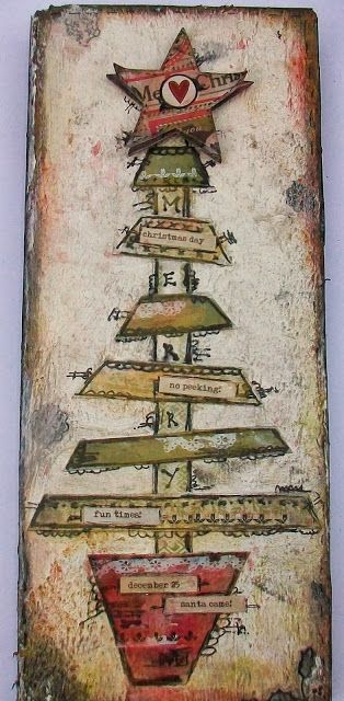 Eclectic Paperie: Hi everyone, Tracy here today and I am soooo excited to be sharing a little of my wood art with you all! Wood Art with Authentique & Pan Pastels . . .
