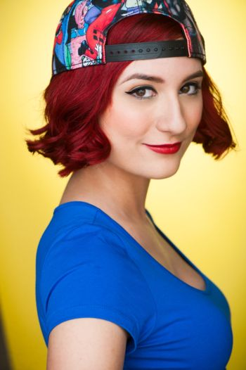 """Anna Brisbin - SBV Talent Anna Brisbin began the YouTube channel """"Brizzy Voices"""" to display her voice acting and impression abilities. 