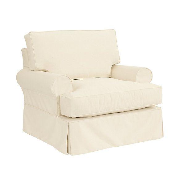 Davenport Club Chair Slipcover Special Order Fabrics